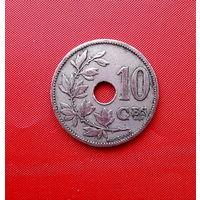 92-28 Бельгия, 10 сантимов 1902 г. (Французский тип)