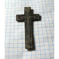 Старинный крестик накладной