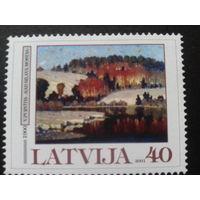 Латвия 2001 живопись