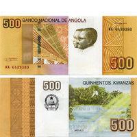 Ангола  500 кванза 2012 год  UNC