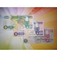 Замбия 20-50и1000 квача