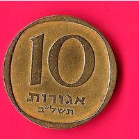 19-47 Израиль, 10 агорот 1972 г.