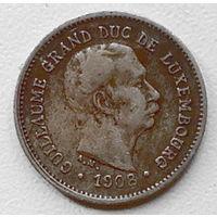 Люксембург 5 сантим 1908 2
