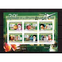 Гвинея-2009,(Мих.6526-6531)  **,бзц, 30-лет революции в Иране