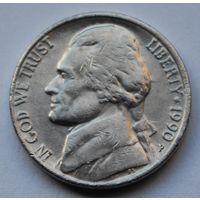США, 5 центов 1990 г. Р