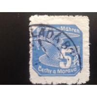 Рейх протекторат 1939 газетная марка