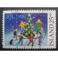 Исландия 1990 Рождество