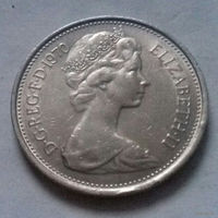 5 пенсов, Великобритания 1970 г.