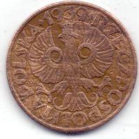 Польша, 5 грошей 1939 года.