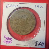 Бразилия, 400 рейс 1901г.