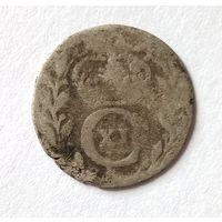 Швеция 1 эре 1694 г. Монета из старой коллекции.