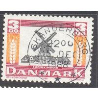 Дания Европа-Септ 1988 год мельница
