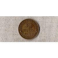 Британская Западная Африка 1 шиллинг 1942 //(МР)