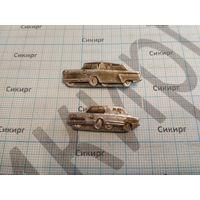 Значки легковые автомобили ГАЗ-13 и ВАЗ 2106 (цена за 1 шт.)