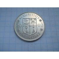 Маврикий 1 рупия 2002г.km55