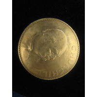 """Монета """"1 крона"""",1965г, Черчиль."""