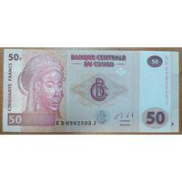 50 франков 2013 года - Конго - UNC