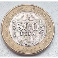 Западная Африка (BCEAO) 500 франков, 2003 6-7-4