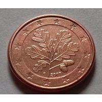 1 евроцент, Германия 2007 F