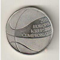 Литва 1 лит 2011 Чемпионат Европы по баскетболу