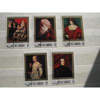 Марки - культура искусство живопись портрет Коморы Рубенс