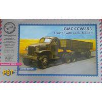 GMC CCW353 тягач с полуприцепом