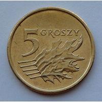 Польша 5 грошей. 2006