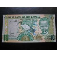 ГАМБИЯ 10 ДАЛАСИ  UNC