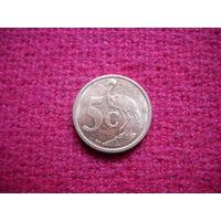 ЮАР 5 центов 2010 г.