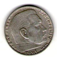 Германия 2 марки 1938 года. D.