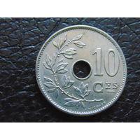 Бельгия 10 сантимов 1904 г.