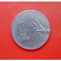 43-19 Индия, 2 рупии 2007 г. (м. д. Хайдарабад)
