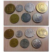 Израиль - 7 монет, цена за все - (все разные из коллекции)