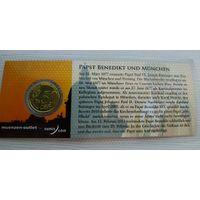 Монета Ватикан 2012 г.