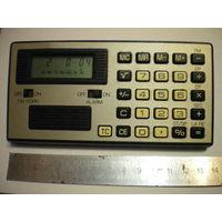 Калькулятор (часы, секундомер, будильник) из ГДР. Рабочий.