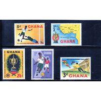 Гана. Чемпион Первенства восточной Африки по футболу.1959.