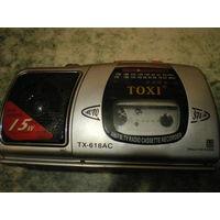Радио-кассетная магнитола TOXI - в ремонт.