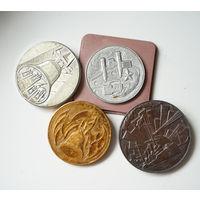 Настольные медали, старт с рубля, без мц!