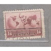 Авиация Авиапочта Австралия  1934 год  лот 5