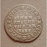 1/12 талера 1688 года.