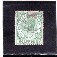 Гибралтар. Ми-47. Король Эдуард VII.1904.