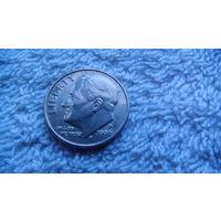 США 10 центов 1996г P. распродажа
