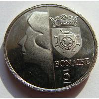 О.Бонайре 5 центов 2013 г
