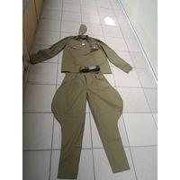 Форма РККА(китель, галифе, пилотка, ремень), размер 54/4. Реплика.