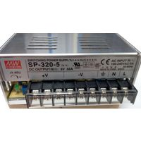 Блок питания SP-320-5. 5 Вольт 275 Вт. MEAN WELL.