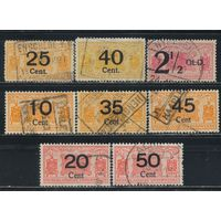 Нидерланды Железнодорожные 1920-4 Паровозы #70,73,95,128,133,135,146,152