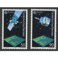 Лихтенштейн 1991. Спутники