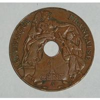 Франц. Индокитай 1 Цент 1937 (96)