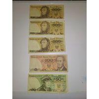 Банкноты польша