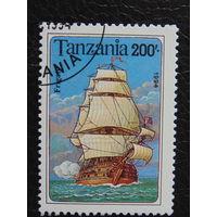 Танзания 1994г. Флот.